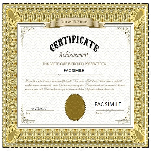 certificati oro